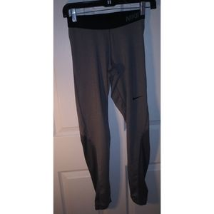 Men's dri fit Nike pro joggers size small